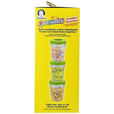 NUK Gerber Graduates Toddler Snacker with Ice Pack, 3-Count (Discontinued by Manufacturer)