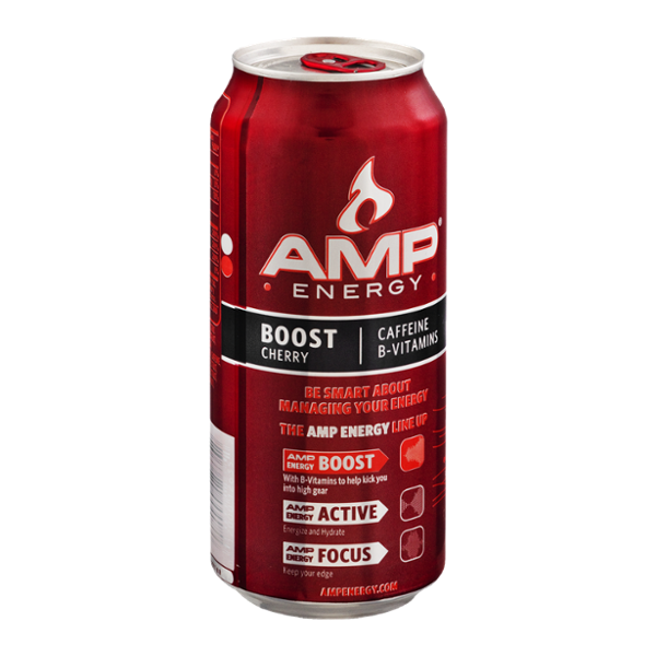 AMP Energy Drink Cherry