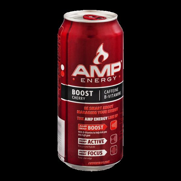 Amp Energy Drink Cherry Reviews 2019