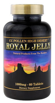 C C Pollen Royal Jelly 1000 mg - 60 Tablets