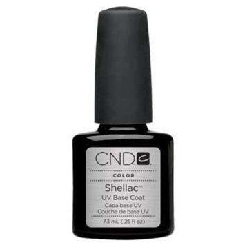 Cnd Cosmetics Shellac Gel Nail Polish Uv Base Coat .25 Oz