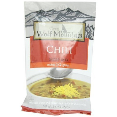 Grey Wolf Mountain Chili, 8-Ounce (Pack of 6)