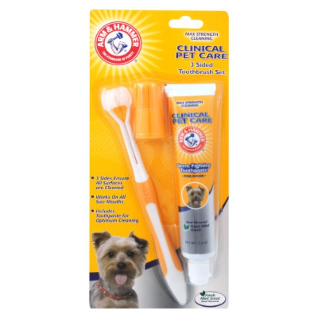 Arm & HammerA Clinical Pet Care Dog Toothpaste & Toothbrush Set