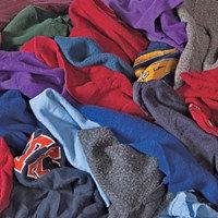 All Rags R251-50 Reclaimed Color Fleece 50 lbs.