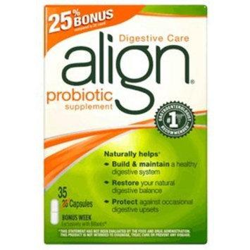 Align digestive care probiotic supplement capsules - 35 ea