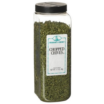 Traders Choice Chives, Freeze Dried, 1.7-Ounce Plastic Containers (Pack of 3)