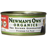 Newman's Own man's Own Organics Canned Cat Food