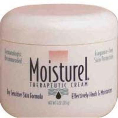 WARNER CHILCOTT MOISTUREL CREAM Size: 4 OZ