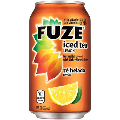 Fuze Lemon Iced Tea 12 Fl Oz