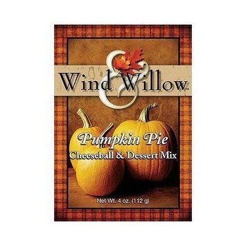 Wind and Willow Pumpkin Pie Cheeseball & Dessert Mix - 4 Ounce (4 Pack)