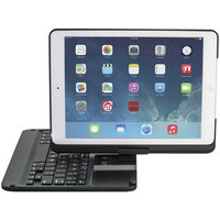 Devicewear 360 Degree Rotating Swivel Ultra Slim Bluetooth Keyboard Case, Multiple viewing Case/Stan