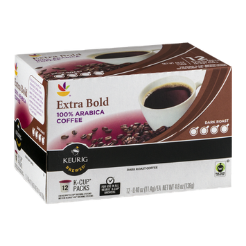 Ahold Extra Bold 100% Arabica Coffee Dark Roast K-Cup Packs - 12 CT