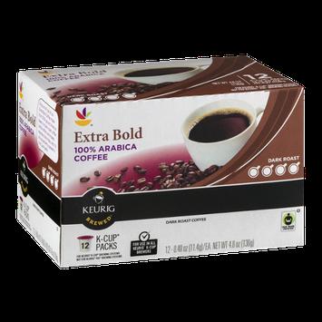 Ahold Extra Bold 100% Arabica Coffee Dark Roast K-Cup Packs - 12 CT