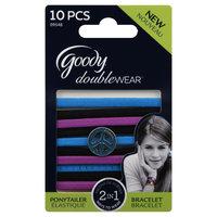 Goody Products Inc. Double Wear Girls Charmed Elastics, 10 pcs
