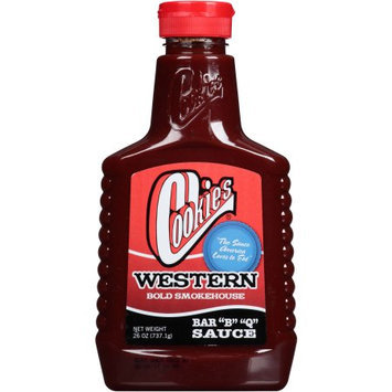 Generic Cookies Western Bold Smokehouse Barbecue Sauce, 26 oz