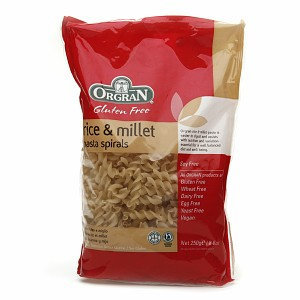 Orgran Stone Ground Rice & Millet Spiral Pasta