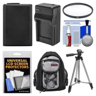 Essentials Bundle for Sony Alpha A5000, A6000 Digital Camera & 16-50mm Lens with Backpack + NP-FW50 Battery & Charger + Tripod + Filter Kit