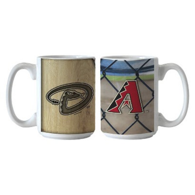 Boelter Brands MLB Diamondbacks Set of 2 Ballpark Coffee Mug - 15oz