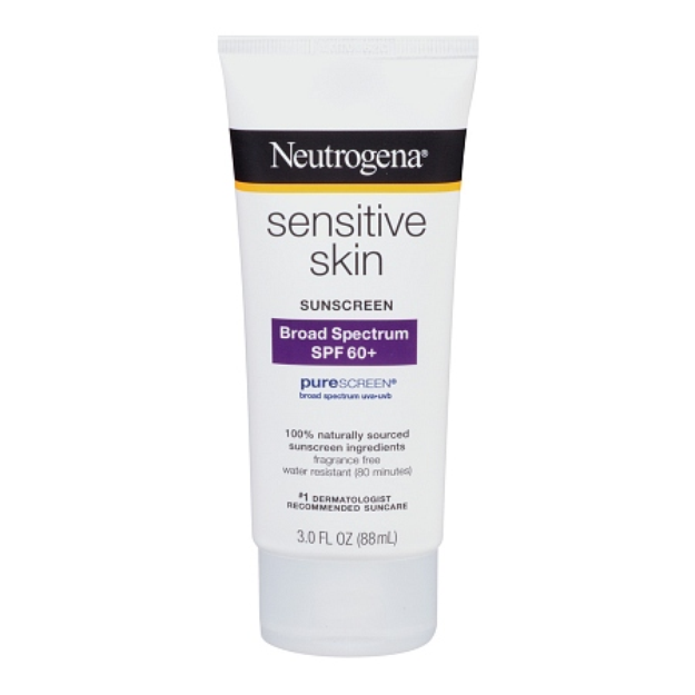 Neutrogena® Sensitive Skin Sunscreen Lotion Broad Spectrum SPF 60+