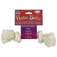 Votoys Vo-Toys White Rope Bone Small Dog Toy