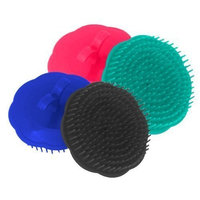 OceanPure Scalp Massage Shampoo Brushes (5 Pack Assorted Colors)