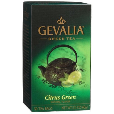 Gevalia Citrus Green Tea, 30 Count Box