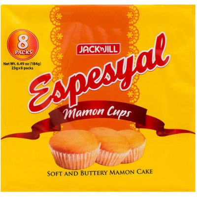 Campbell Jack 'n Jill Espesyal Mamon Cups, 8 count, 6.49 oz