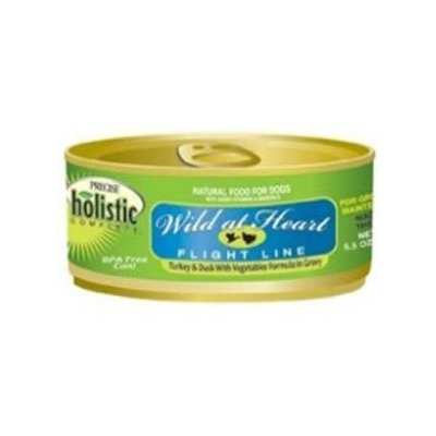 Precise Holistic Complete Wild at Heart Flight Line Turkey & Duck Formula Canned Dog Food 12/13.2-oz cans