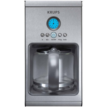 Krups KRUPS 10-Cup Prelude Coffeemaker, Silver