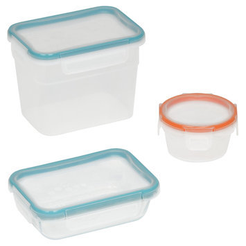 Snapware 6-Piece Total Solution Assorted Lidded Storage Containers