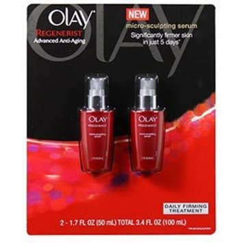 Olay Regenerist Micro-Sculpting Serum - 2 50ml/1.7oz. Bottles