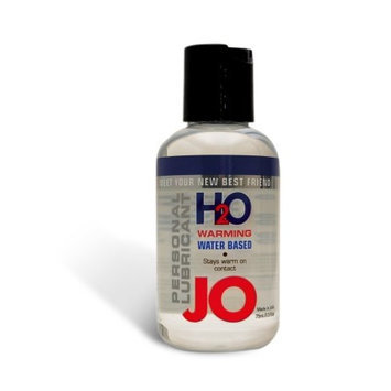 System Jo Personal H2o Warming Lubricant, 2.5 ounce Bottle