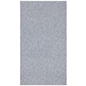 King Zak Ind Lillian Tablesettings 23155 Silver Texture Bistro Napkin - 360 Per Case