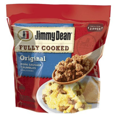 Hillshire Jimmy Dean Fully Cooked Original Pork Sausage Crumbles 9.6 oz