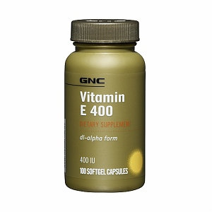 GNC Vitamin E 400