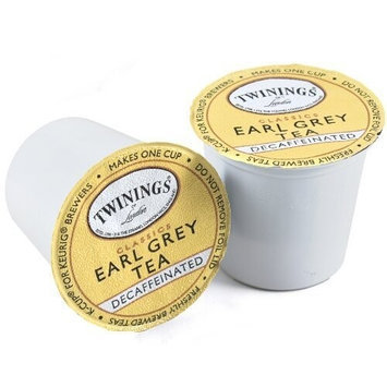 Twinings Earl Grey Decaf Tea Keurig K-Cups, 24 Count