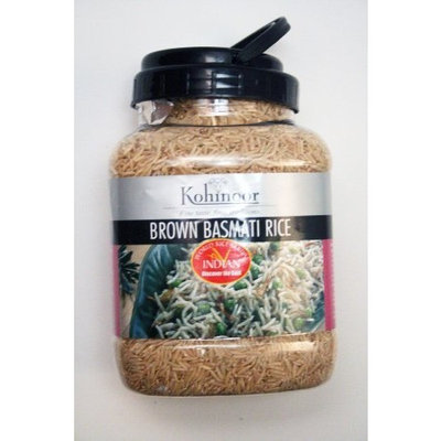 Kohinoor Foods USA, Inc Rice, Brown, Basmatti, 2.20-Pound