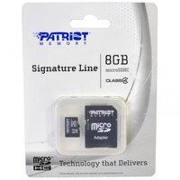 Patriot Memory PATRIOT SIGNATURE FLASH, 8GB SDHC CLASS 4