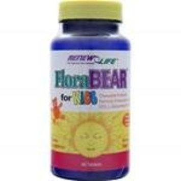 Renew Life Florabear Probiotic Tablets for Kids, 60 Count - set of 2
