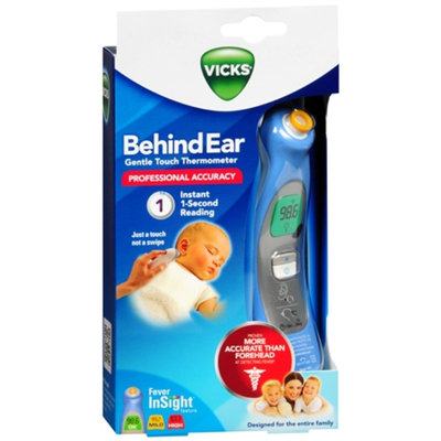 Vicks Behind Ear Gentle Touch Thermometer Model V980