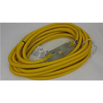 Coleman Cable 10612547 Yellow American Contractor American Contractor