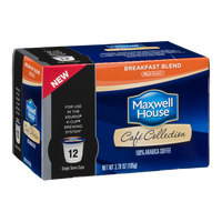 Maxwell House Cafe Collection Breakfast Blend Single Serve Cups