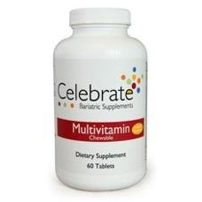 Celebrate Multivitamin Chewable Pineapple Strawberry 60 ct