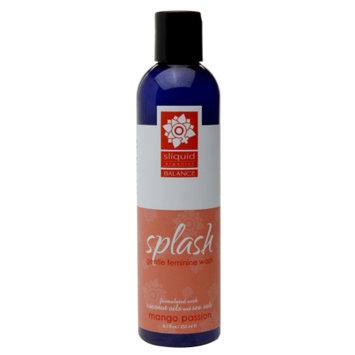 Sliquid Organics Balance Splash Gentle Feminine Wash, Mango Passion, 8.5 fl oz
