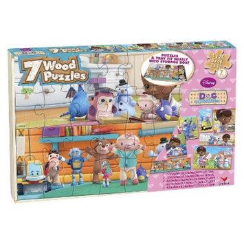 Disney Doc McStuffin 7PK Wood Puzzle