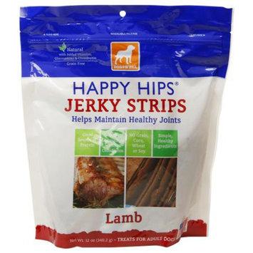 Dogswell Happy Hips Jerky Strips, Lamb, 12 OZ