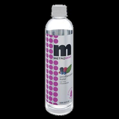 Metromint Goodberrymint Water