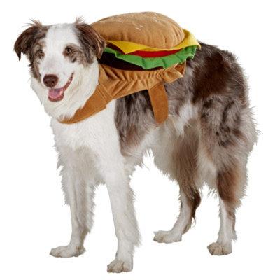 Top PawA Hamburger Costume
