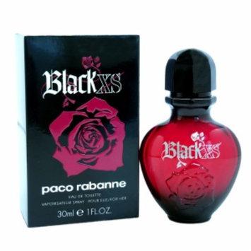 Paco Rabanne Black XS Eau de Toilette Spray, 1 fl oz