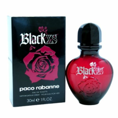 Paco Rabanne Black XS Eau de Toilette Spray, 1 fl oz